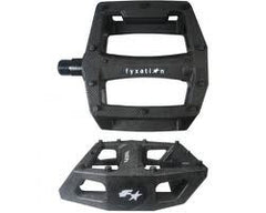 Fyxation Gates Nylon Platform Pedals Black