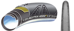 "Continental Grand Prix 4000SR 28""x22mm Road Tubular Tires"