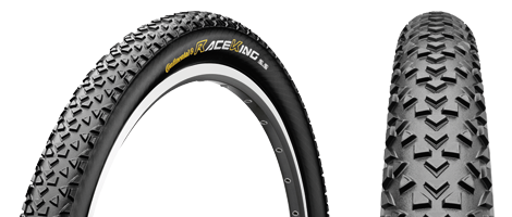 Continental Race King 26 x 2.2 Folding UST Tubeless