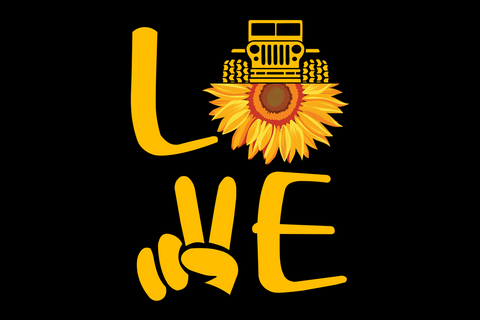 Love jeep life SVG EPS PNG DXF PDF