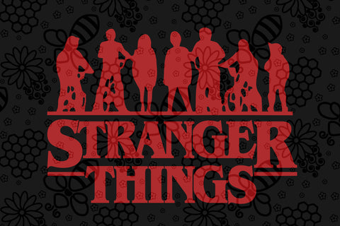 Stranger things SVG EPS PNG DXF PDF