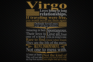 Virgo loves being in long relationships SVG Files For Silhouette, Files For Cricut, SVG, DXF, EPS, PNG Instant Download