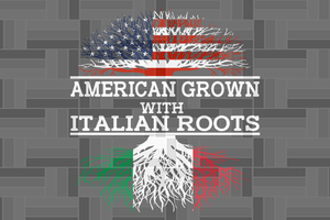Italian grown with Italian roots  SVG Files For Silhouette, Files For Cricut, SVG, DXF, EPS, PNG Instant Download