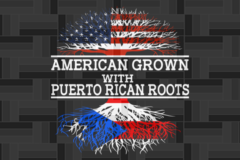 Puerto grown with Italian roots  SVG Files For Silhouette, Files For Cricut, SVG, DXF, EPS, PNG Instant Download