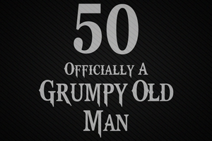 50 officially a grumpy old man SVG Files For Silhouette, Files For Cricut, SVG, DXF, EPS, PNG Instant Download