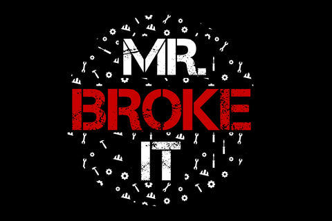 Mr broke it SVG EPS PNG DXF PDF