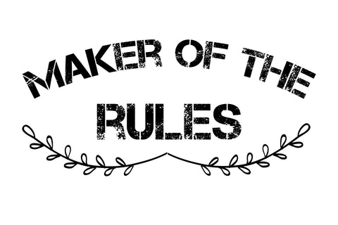 Maker of the rules SVG EPS PNG DXF PDF
