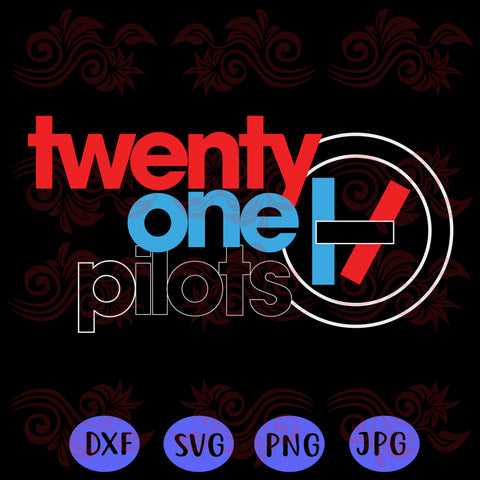 Twenty one pilots SVG Files For Silhouette, Files For Cricut, SVG, DXF, PNG Instant Download