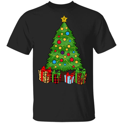 Christmas pine tree Tshirt
