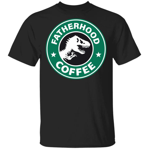 Fatherhood coffee Tshirt