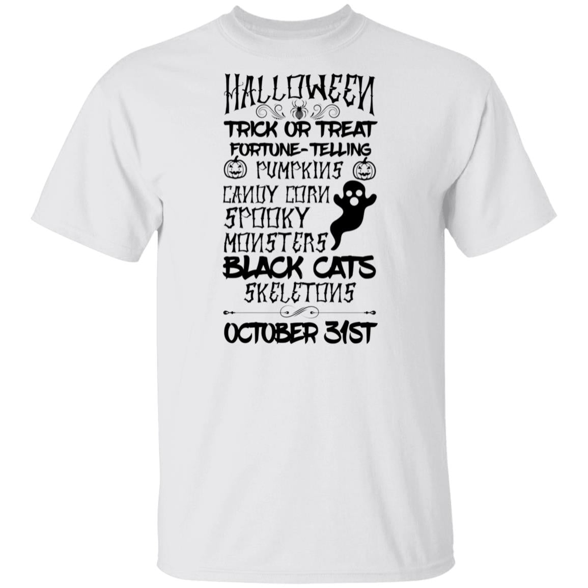 Halloween trick or treat Tshirt
