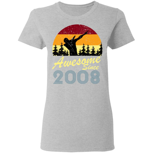 Awesome since 2008 Tshirt
