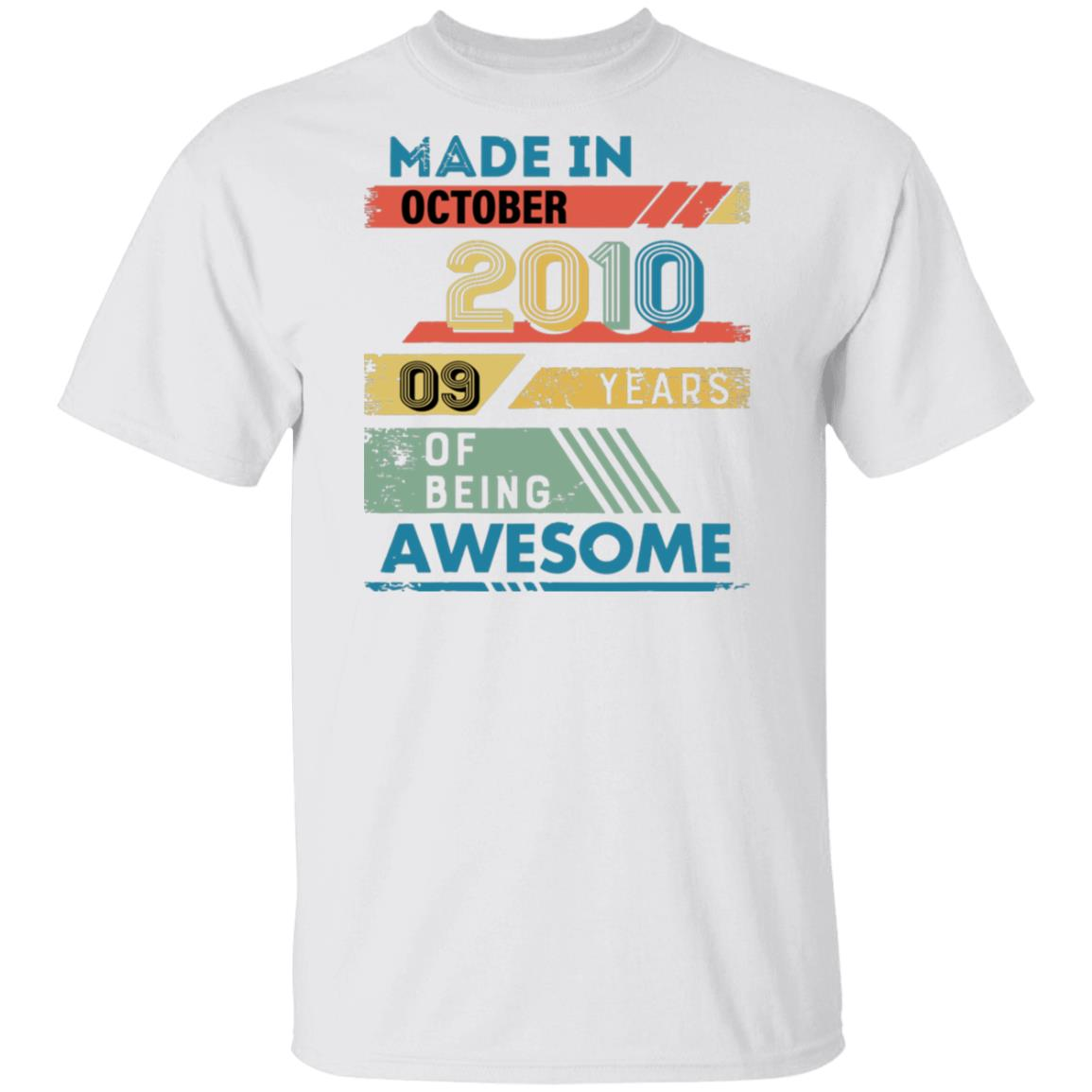 Made in October 2010 Tshirt