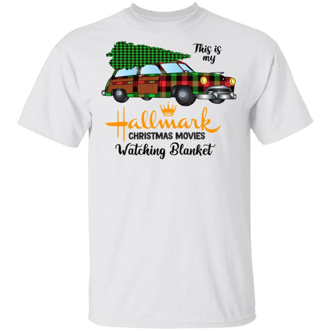 My hallmark christmas movies watching blanket Tshirt