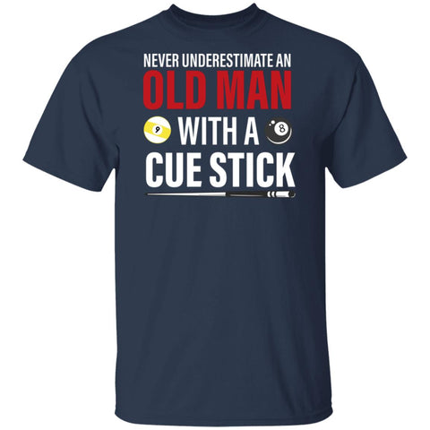 Old man with a cue stick Tshirt