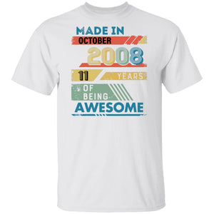 Made in October 2008 Tshirt