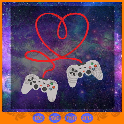 Video games valentines day, JPG, PNG, DXF, SVG