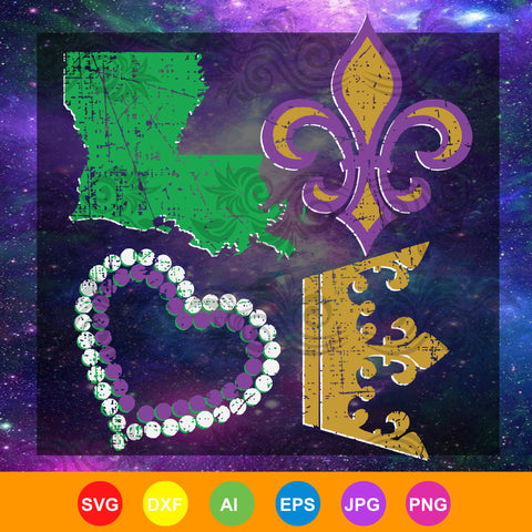Mask Crawfish and Beads This Is My Mardi Gras Costume , mask crawfish and bead svg, mardi gras SVG, DXF, EPS, PNG Instant Download