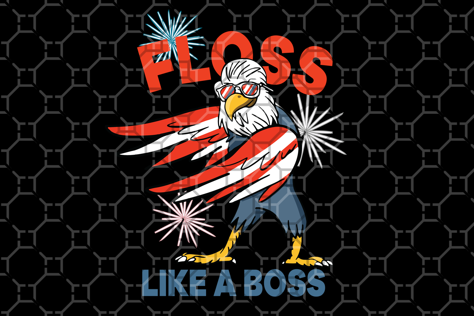 Floss like a boss SVG EPS PNG DXF PDF