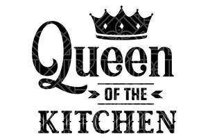 Queen of the kitchen, PNG, DXF, SVG, EPS, PDF
