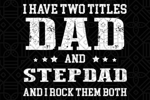 Dad and stepdad, PNG, DXF, SVG, EPS, PDF