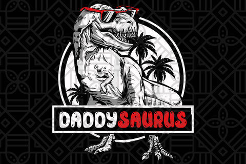 Daddy saurus, PNG, DXF, SVG, EPS, PDF