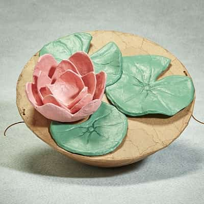 Biodegradable Urn Lotus Flower