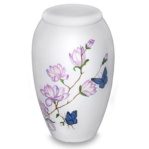 Delicate Butterflies Urn - Quality Urns & Statues For Less