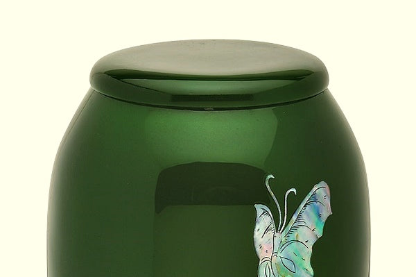 butterfly urns