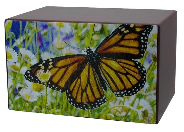 butterfly cremation urns