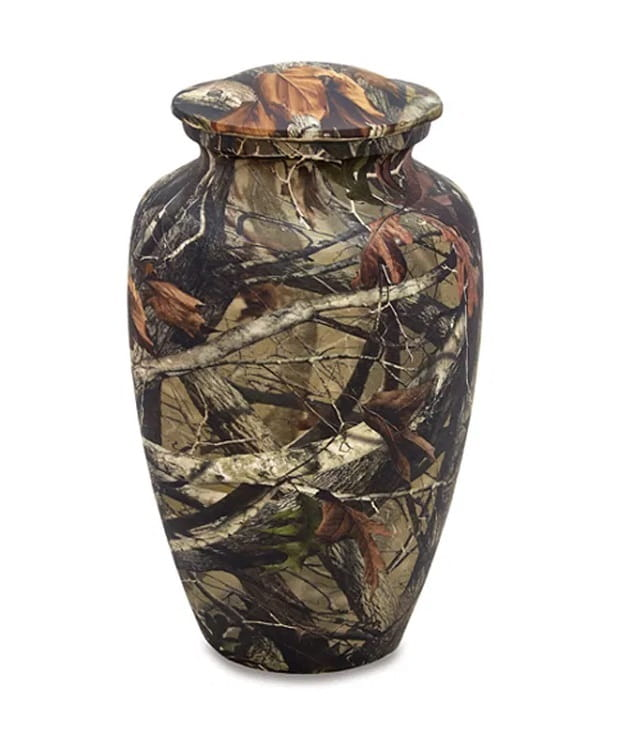 In the Woods Camo Urn