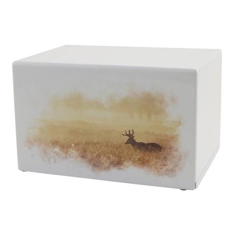Deer Hunting Dream Urn Somerset Series - Quality Urns & Statues For Less