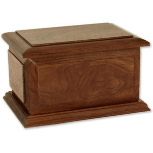 Albany Walnut Extra Large Urn - Quality Urns & Statues For Less