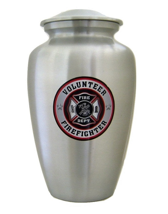 Volunteer Firefighter Cremation Urn - Quality Urns & Statues For Less
