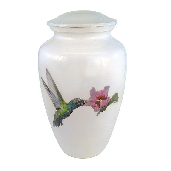 hummingbirds urn