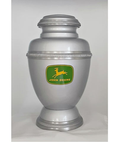 John Deere Metal Urn - Quality Urns & Statues For Less