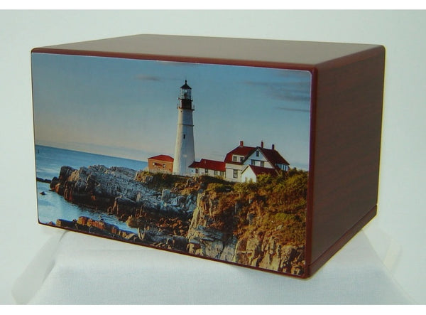 Rocky Point Lighthouse Urn - Quality Urns & Statues For Less
