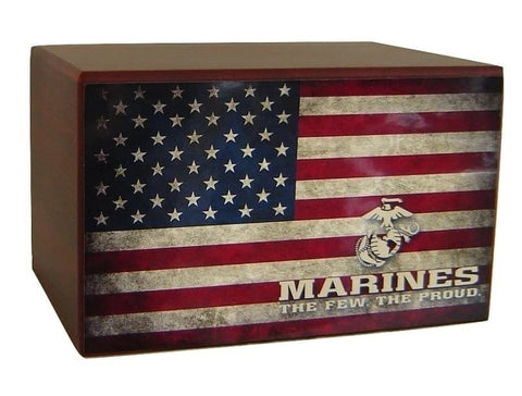 Marine Corps Urn The Few the Proud - Quality Urns & Statues For Less