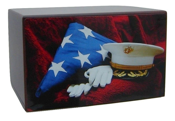 Marine Corps Honor Urn for Ashes - Quality Urns & Statues For Less