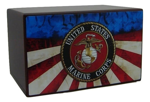Marine Corps We the People Urn - Quality Urns & Statues For Less