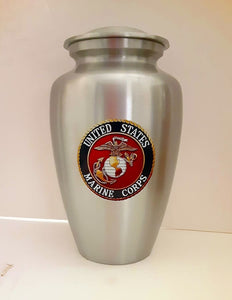 Marine Corps Traditional Military Urn - Quality Urns & Statues For Less