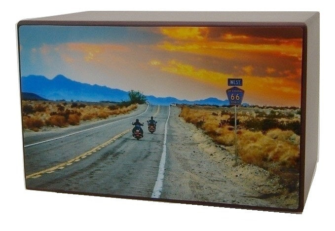 Motorcycle Urn Riding to Paradise - Quality Urns & Statues For Less