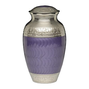 purple urns