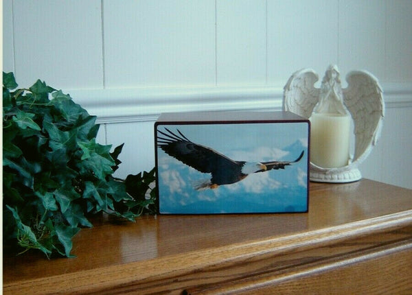 Majestic American Bald Eagle Cremation Urn - Quality Urns & Statues For Less
