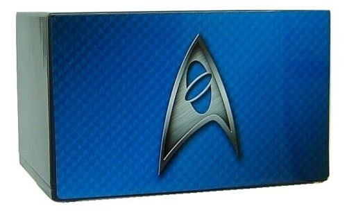 Star Trek Urn for Ashes with Delta Insignia on Blue Background - Quality Urns & Statues For Less