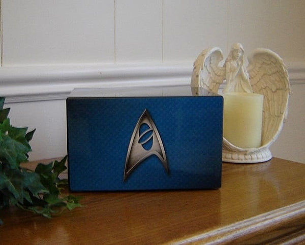 star trek cremation urn