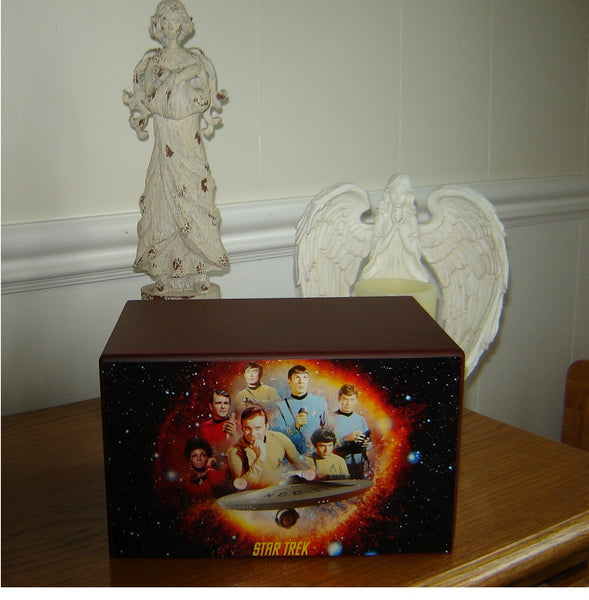 star trek cremation urns