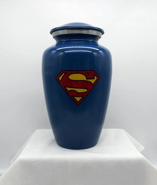 superman urn for ashes