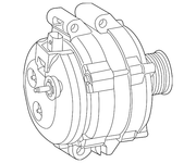 ALTERNATORS - Mopar ARM      56029696AA