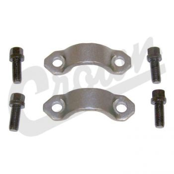 Dodge U-Joint Strap & Bolt Kit (Hex Head) Part Number 4006698K Suits Jeep, Vintage Jeep, Dodge & Ram See Description For More Info